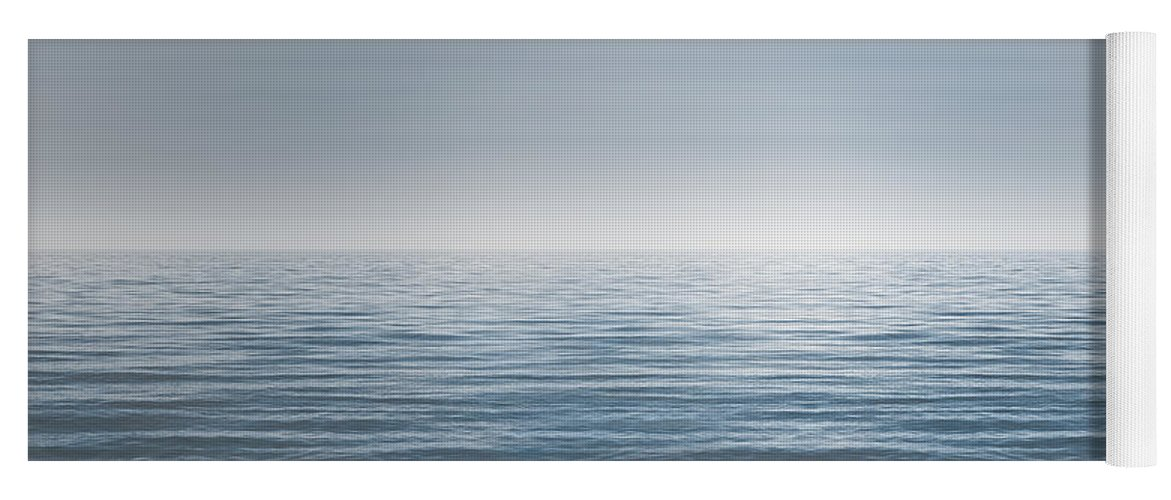 Water Yoga Mat featuring the photograph Limitless by Scott Norris
