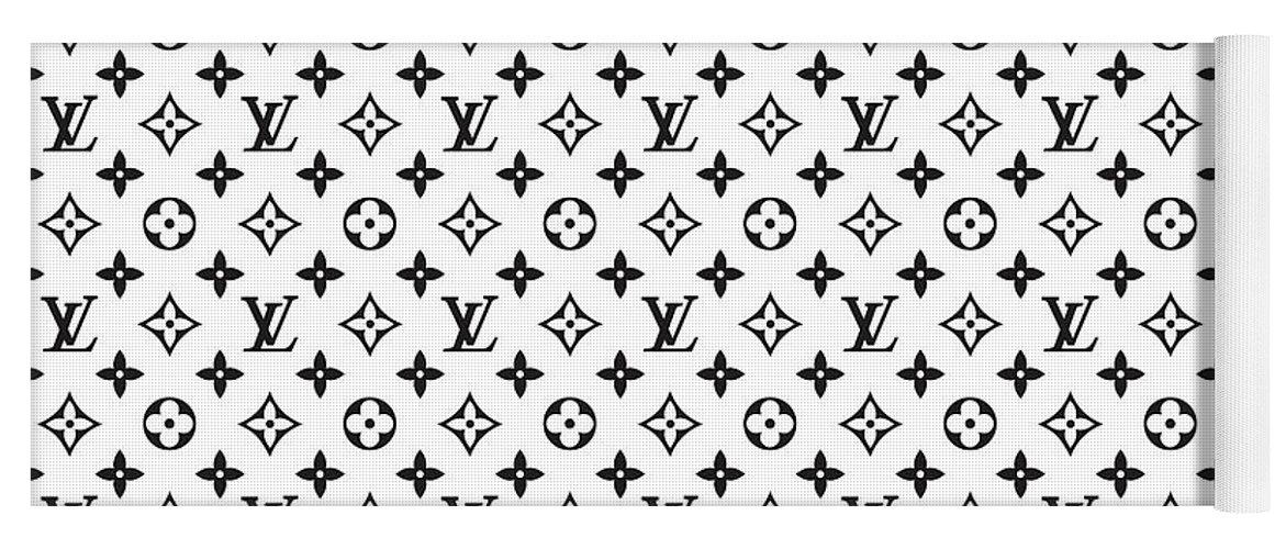 d47644e37ef8d Louis Vuitton Yoga Mat featuring the digital art Louis Vuitton Pattern - Lv  Pattern 02 -
