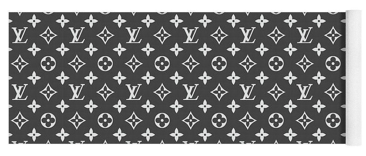 4ea55379a65f Louis Vuitton Yoga Mat featuring the digital art Louis Vuitton Pattern - Lv  Pattern 03 -