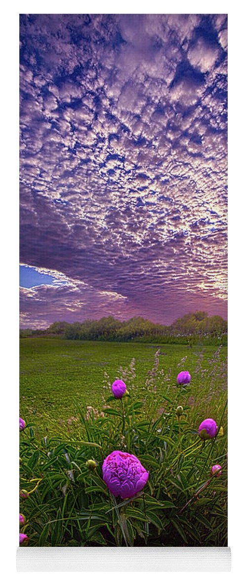 Travel Yoga Mat featuring the photograph Lucky Charms by Phil Koch