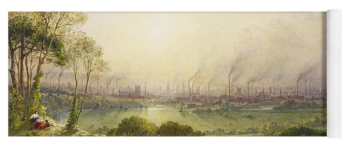 Print Wyld William Manchester From Kersal Moor