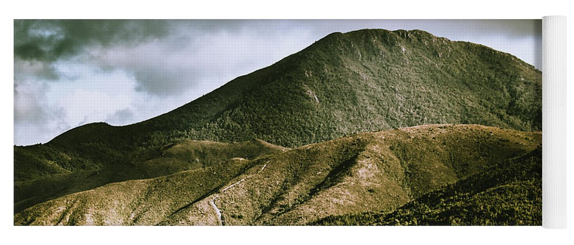 Nature Yoga Mat featuring the photograph Mount Zeehan Tasmania by Jorgo Photography - Wall Art Gallery