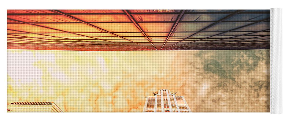 Nyc Yoga Mat featuring the photograph New York City - Chrysler Building by Vivienne Gucwa