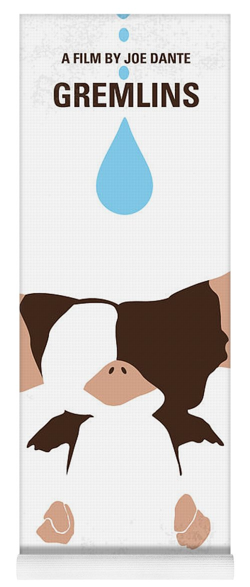 2060c1c984c8 Gremlins Yoga Mat featuring the digital art No451 My Gremlins Minimal Movie  Poster by Chungkong Art