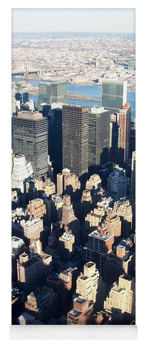 Nyc Yoga Mat featuring the photograph Nyc 4 by Anita Burgermeister