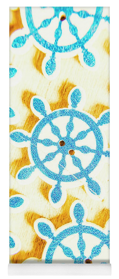 Yacht Yoga Mat featuring the photograph Ocean Circles by Jorgo Photography - Wall Art Gallery