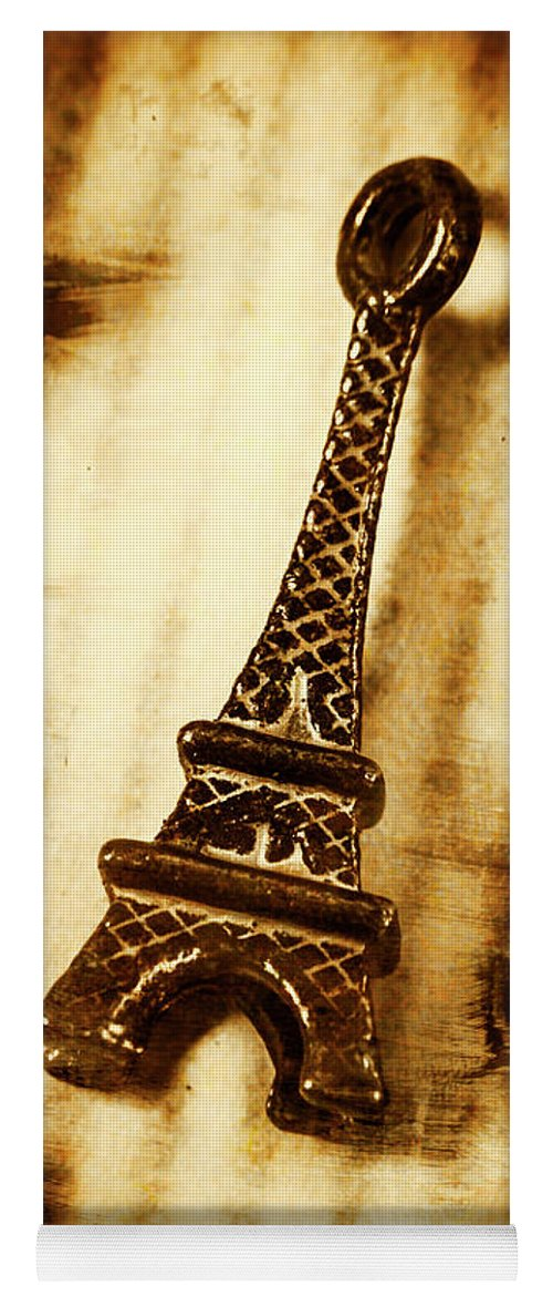 Old Fashion Eiffel Tower Souvenir Yoga Mat for Sale by Jorgo ...