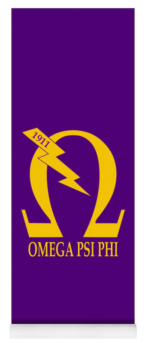 Omega Psi Phi Yoga Mat For Sale By Sincere Taylor