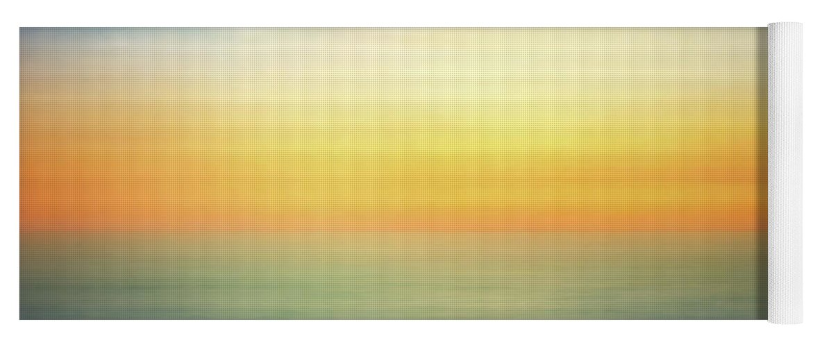 Pastel Yoga Mat featuring the digital art Pastel Sunrise by Scott Norris