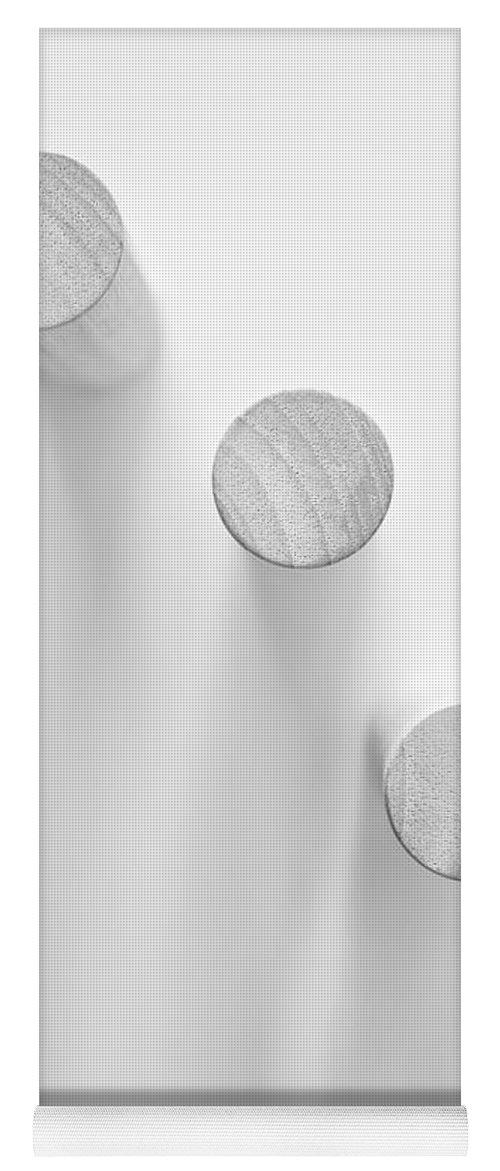 Minimal Yoga Mat featuring the photograph Pillars by Scott Norris
