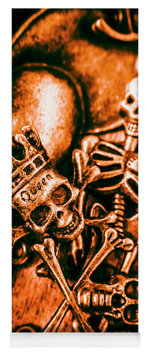 Jewelry Yoga Mat featuring the photograph Pirates Treasure Box by Jorgo Photography - Wall Art Gallery
