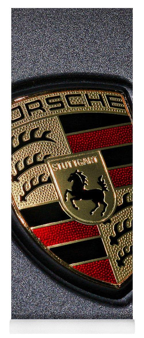 Porsche Yoga Mat featuring the photograph Porsche by Gordon Dean II