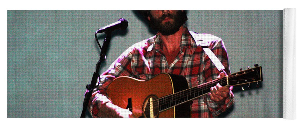 Ray Lamontagne Yoga Mat featuring the photograph Ray Lamontagne-9040 by Gary Gingrich Galleries