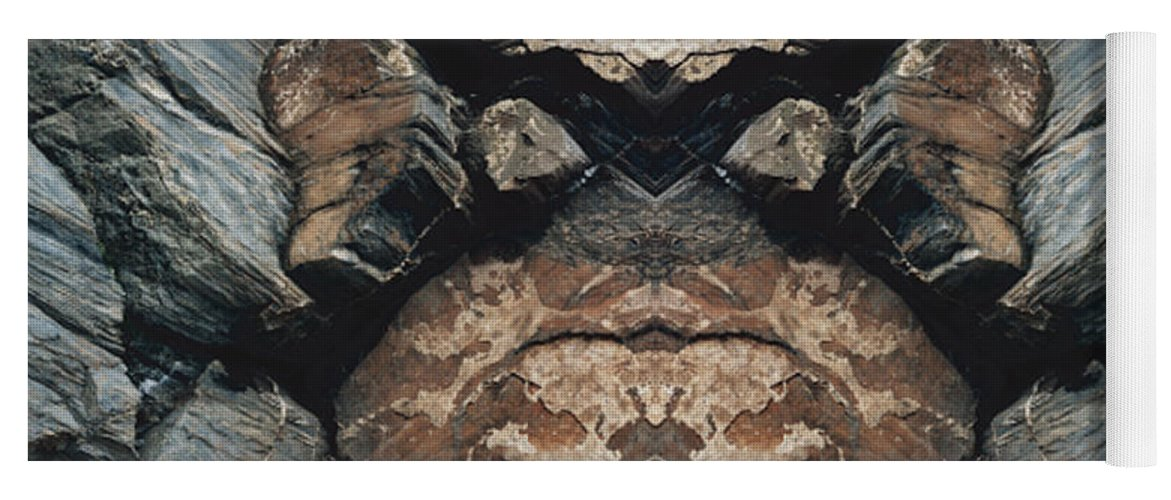 Rocks Yoga Mat featuring the photograph Rock Gods Rock Matron by Nancy Griswold