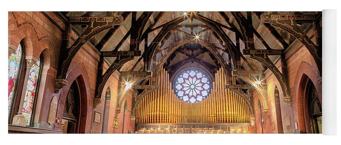 Sage Chapel Organ - Opus 1009 Yoga Mat