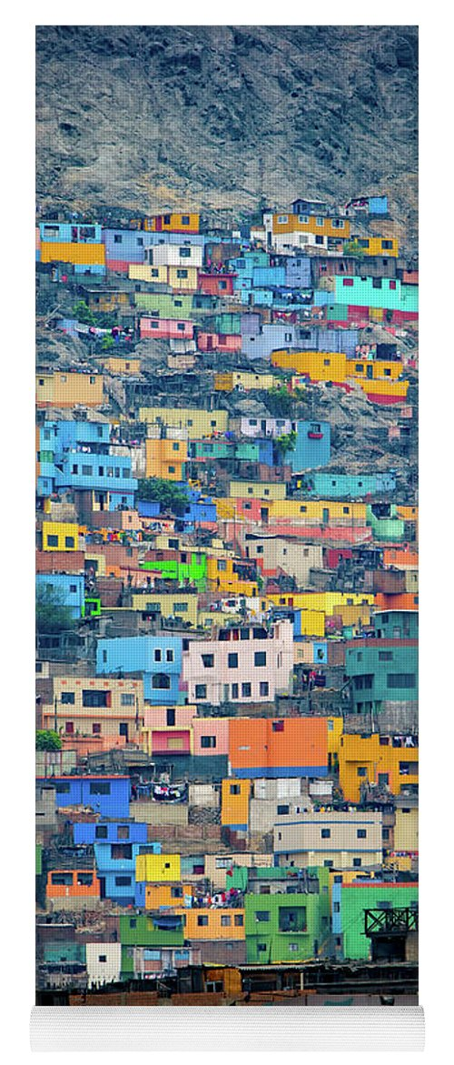 Lima Yoga Mat featuring the photograph San Cristobal by Doug Sturgess