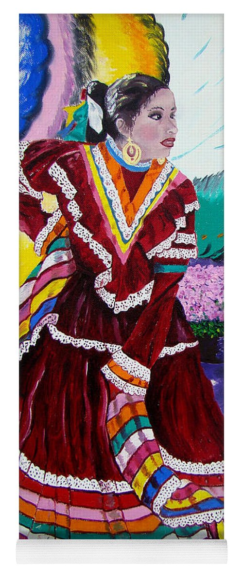 Spanish Girl 2 Of 2 Yoga Mat For Sale By Lisa Rose Musselwhite