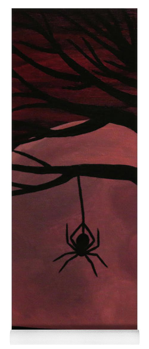 Spooky Spider Tree Yoga Mat
