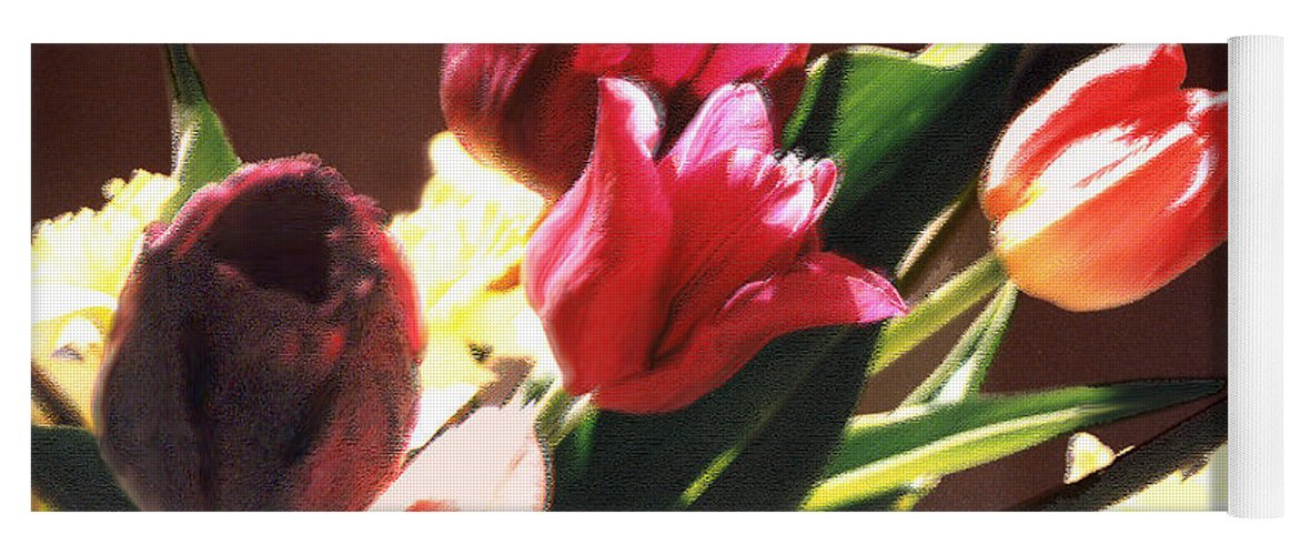 Floral Still Life Yoga Mat featuring the photograph Spring Bouquet by Steve Karol