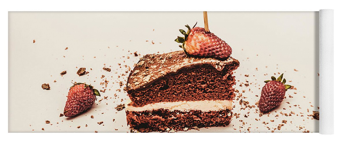 Chocolate Yoga Mat featuring the photograph Tempting Treat by Jorgo Photography - Wall Art Gallery