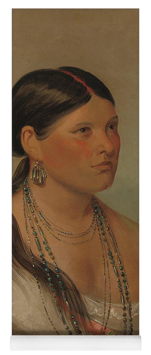 George Catlin/'s Indian Gallery Fine Art Print the Female Eagle Shawano