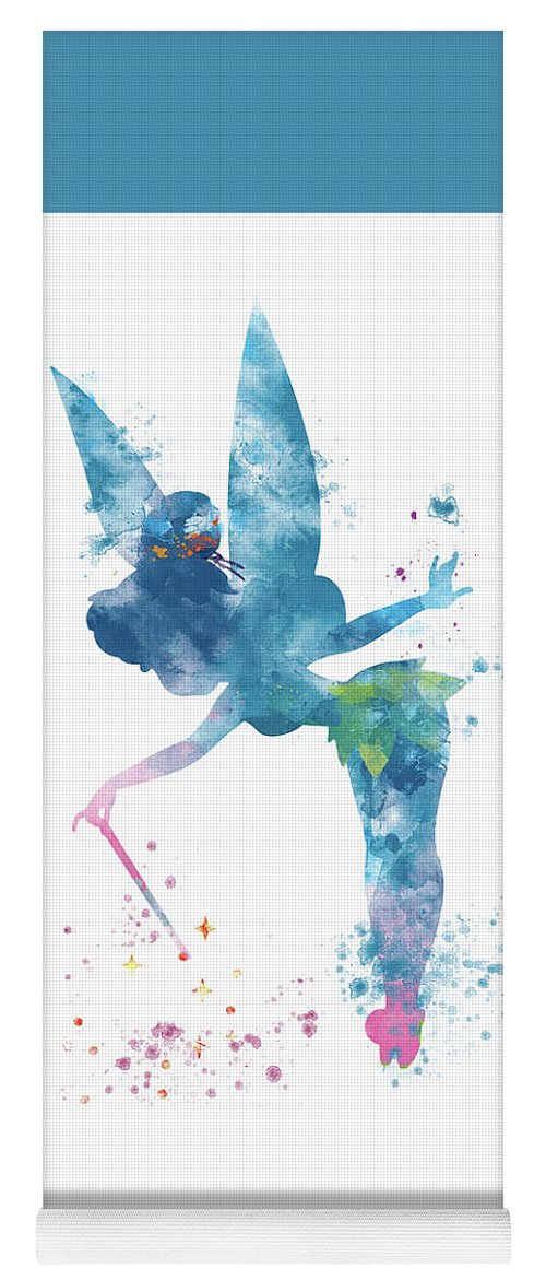 Tinkerbell Yoga Mat For Sale By Monn Print