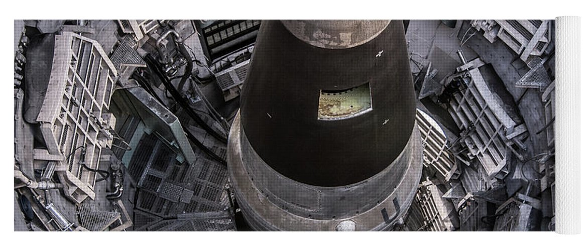 Titan II Nuclear Missile Silo - Tucson - Arizona Yoga Mat