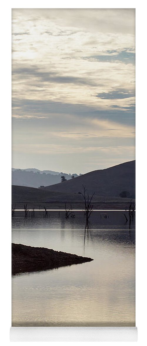 Lake Yoga Mat featuring the photograph Tranquil by Linda Lees