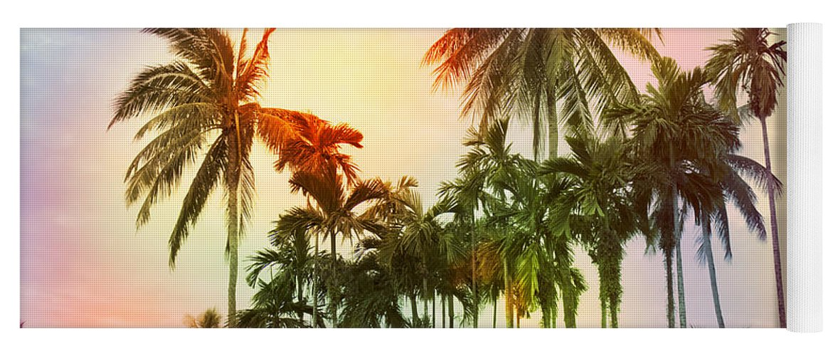 Tropical Yoga Mat featuring the photograph Tropical 11 by Mark Ashkenazi
