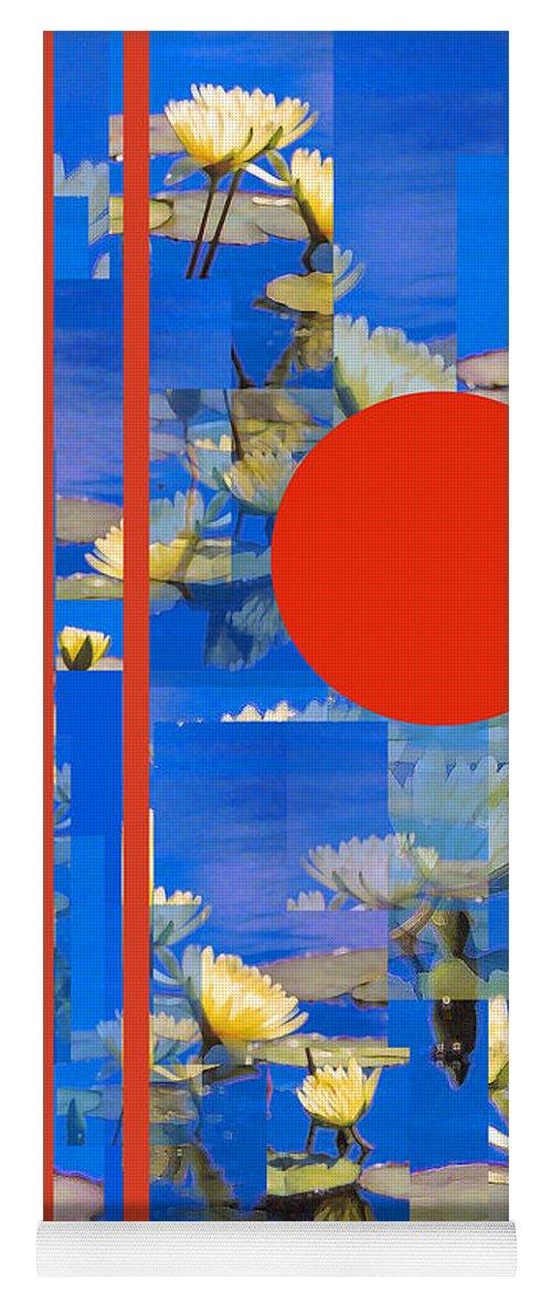 Flowers Yoga Mat featuring the photograph Vertical Horizon by Steve Karol