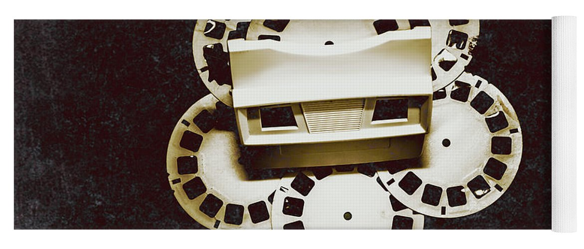 View Master Yoga Mat featuring the photograph Vintage Film Toy by Jorgo Photography - Wall Art Gallery