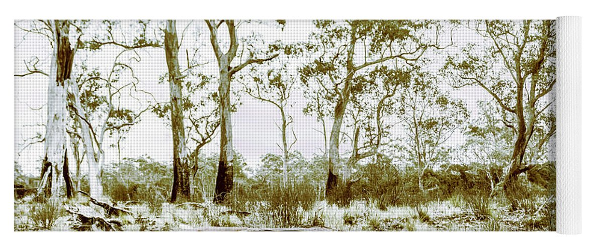 Tasmania Yoga Mat featuring the photograph Vintage Winter Car Wreck by Jorgo Photography - Wall Art Gallery