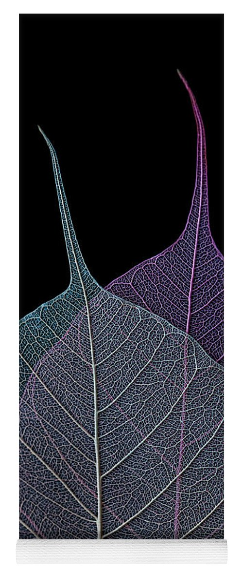 Leaves Yoga Mat featuring the photograph Vulnerability by Maggie Terlecki