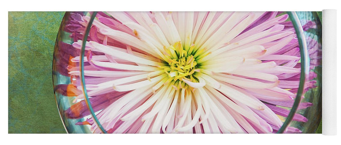 Flower Yoga Mat featuring the photograph Water Flower by Scott Norris