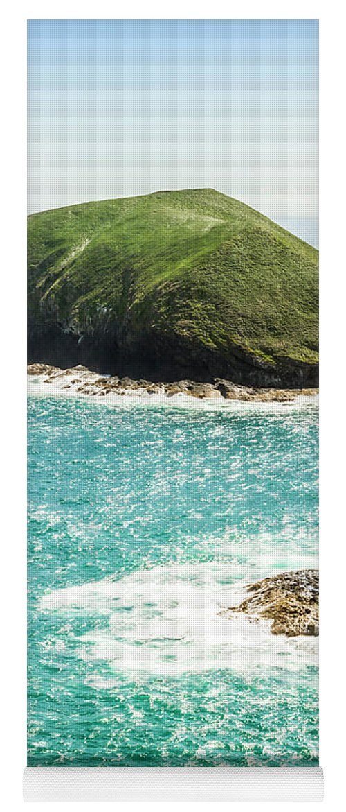 View Yoga Mat featuring the photograph Wild Western Waters by Jorgo Photography - Wall Art Gallery