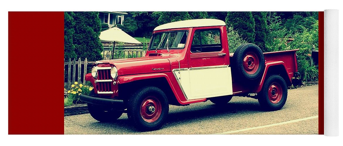 Willys Jeep Truck For Sale >> Willys Jeep Pickup Yoga Mat