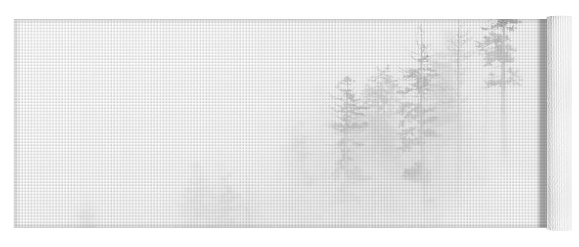 Winter Yoga Mat featuring the photograph Winter Veil by Mike Dawson