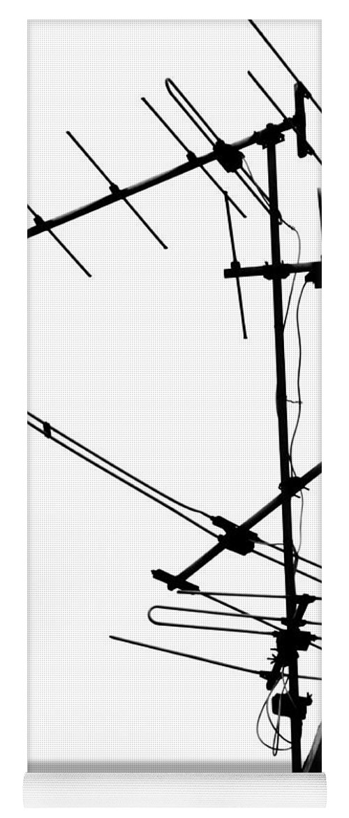 Wires Yoga Mat featuring the photograph Wired by Tara Turner