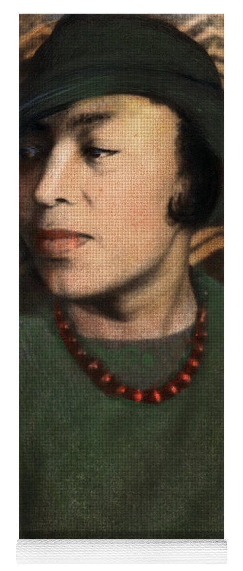 1938 Yoga Mat featuring the photograph Zora Neale Hurston, C1903-1960 by Granger
