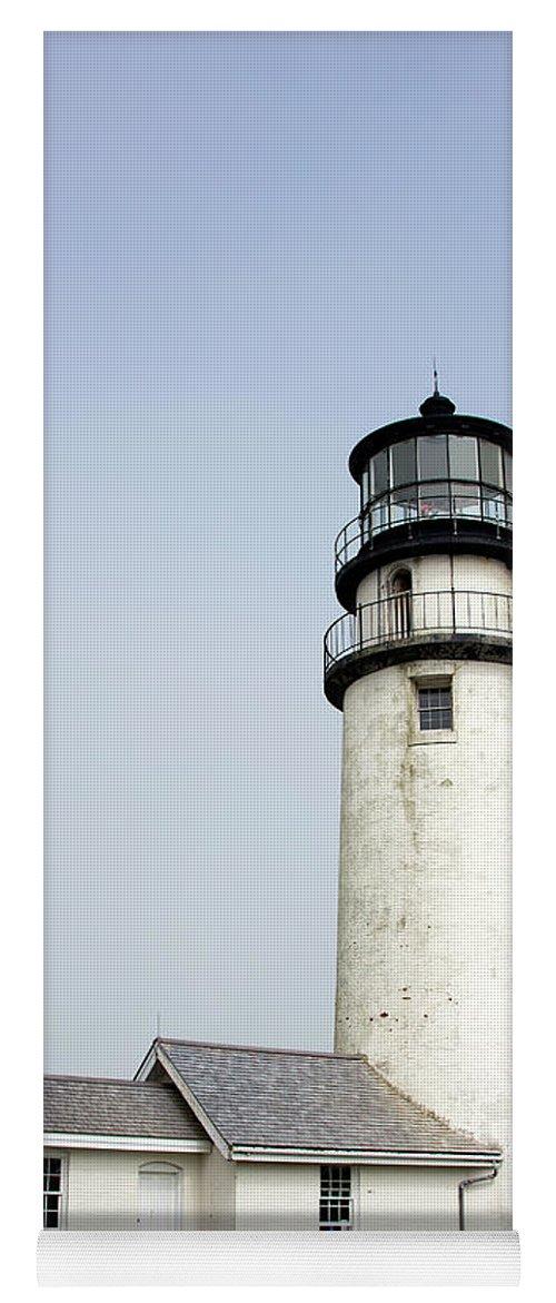 Highland Light Yoga Mat featuring the photograph Highland Light - Cape Cod National Seashore 4 by Brendan Reals