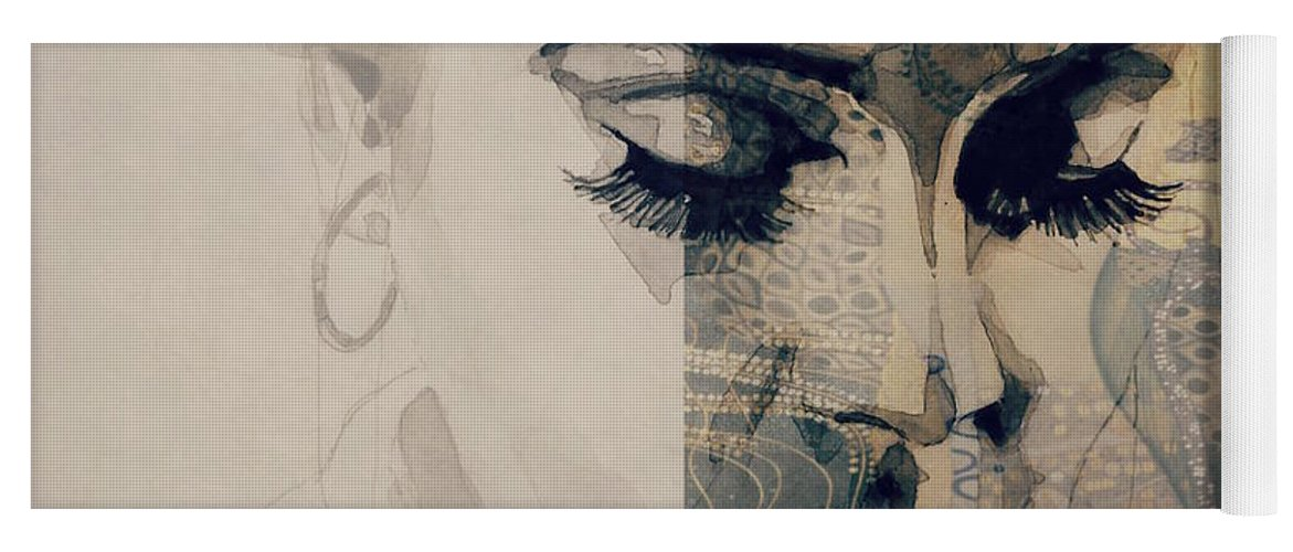 Adele Yoga Mat featuring the photograph Adele - Hello by Paul Lovering