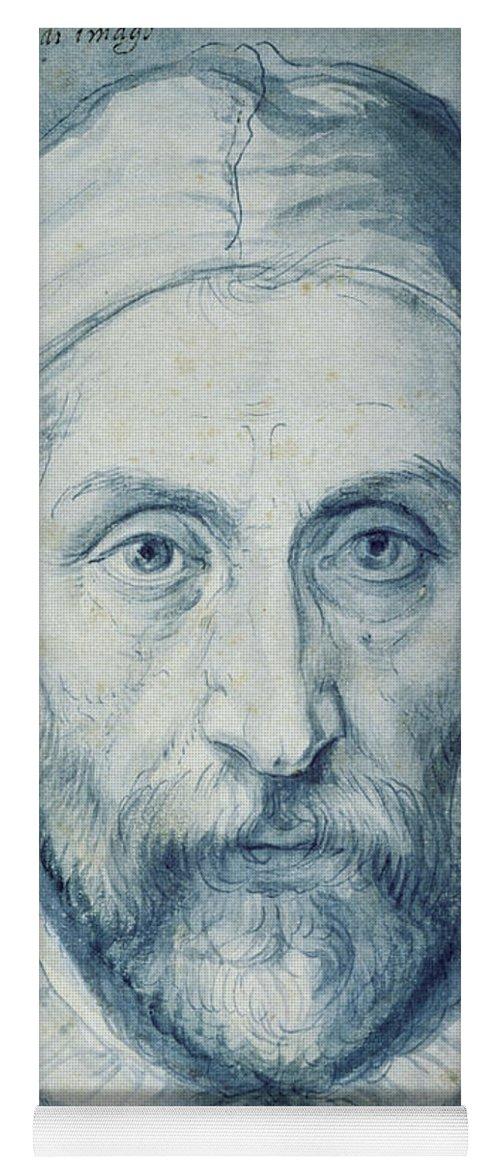 Arcimboldo Self Portrait Yoga Mat featuring the painting Arcimboldo Self Portrait by Giuseppe Arcimboldo