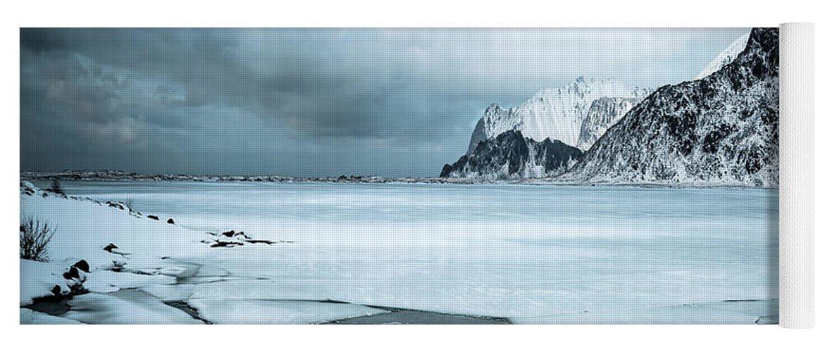 Kremsdorf Yoga Mat featuring the photograph Break The Ice by Evelina Kremsdorf