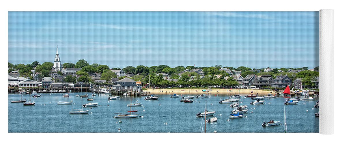 Childrens Yoga Mat featuring the photograph Childrens Beach - Nantucket Harbor - Massachusetts by Brendan Reals