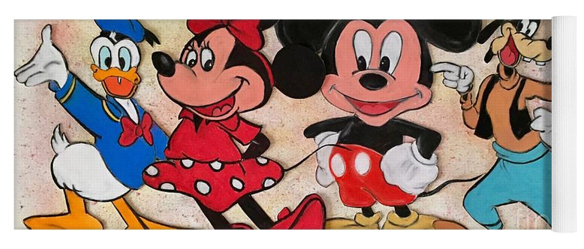 Disney Kids Yoga Mat For Sale By Mark James