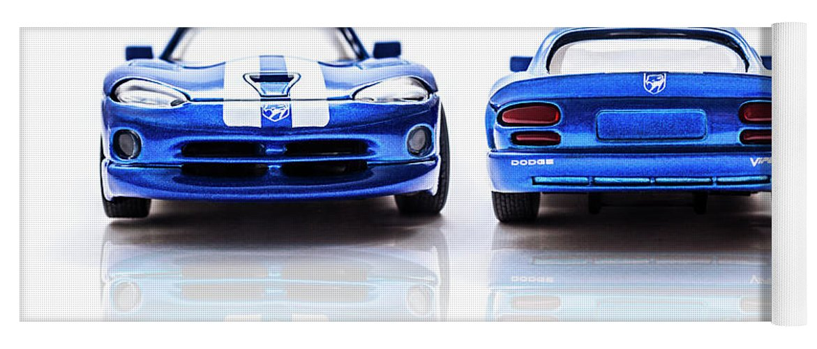 Automotive Yoga Mat featuring the photograph Double The Sting by Jorgo Photography - Wall Art Gallery