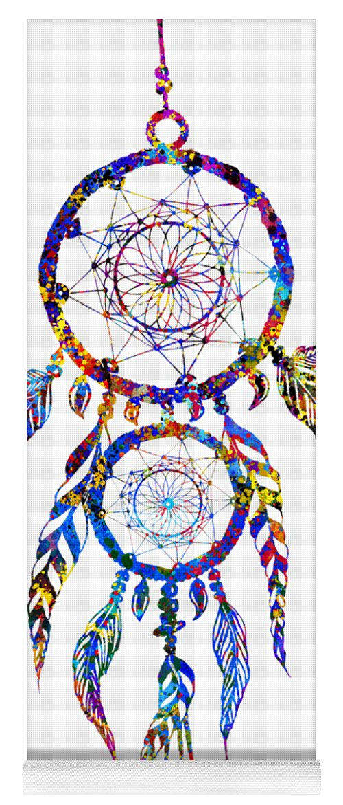 superior quality newest style of best cheap Dreamcatcher-colorful Yoga Mat for Sale by Erzebet S