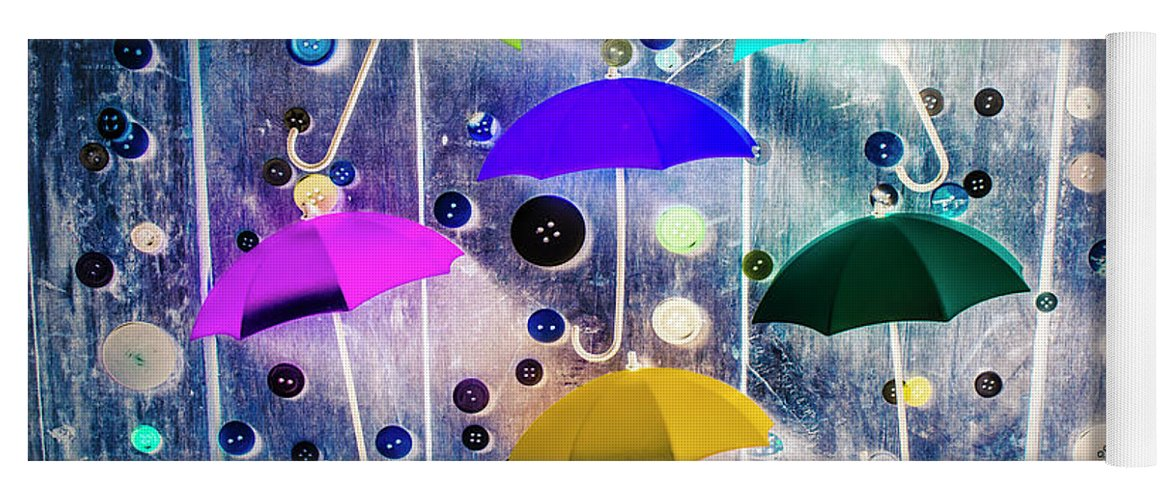 Artwork Yoga Mat featuring the photograph Imagination Raining Wild by Jorgo Photography - Wall Art Gallery