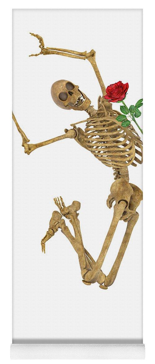 Human Yoga Mat featuring the digital art Jump For Joy by Betsy Knapp