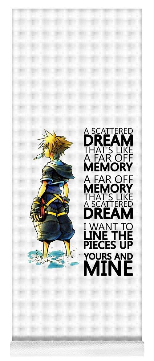 Kingdom Hearts Yoga Mat